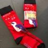 Kookaburra socks by Mount Vic and Me